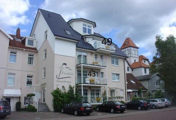 Wohnung 43 mit Südbalkon