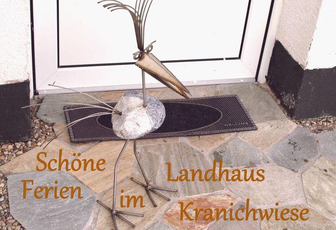 Ferienwohnung im Landhaus Kranichwiese in Wendhof