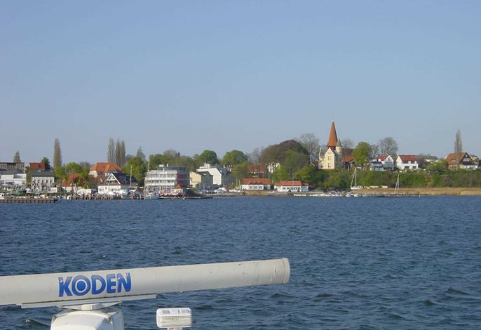 Fewo Bellevue - 180° Panoramablick auf Sund und Stralsund