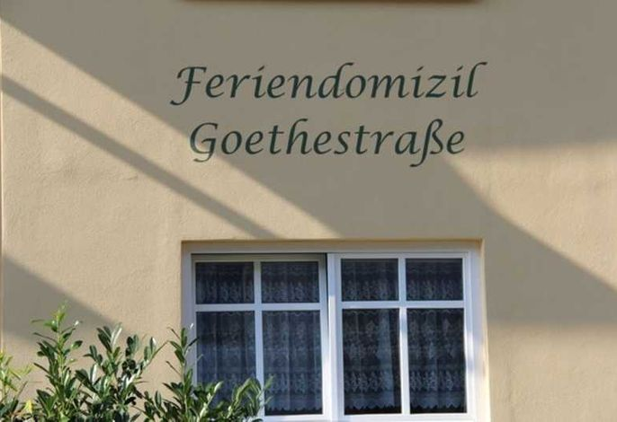 Feriendomizil Goethestraße, Wohnung Bernstein (Whg.5)