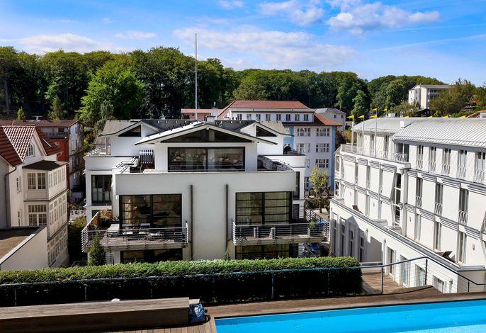 Villa Paula -F501 | Penthouse mit Kamin und Dachterrasse