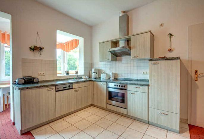 Küchenzeile im Wohn-/Esszimmer