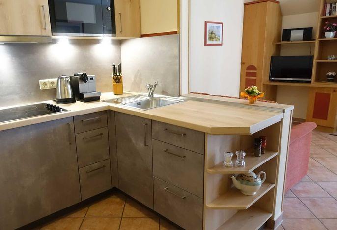 Wohnen und Küche