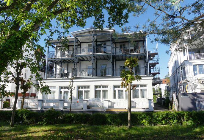Ferienwohnung Villa Strandblick 01 im Ostseebad Binz, Rügen
