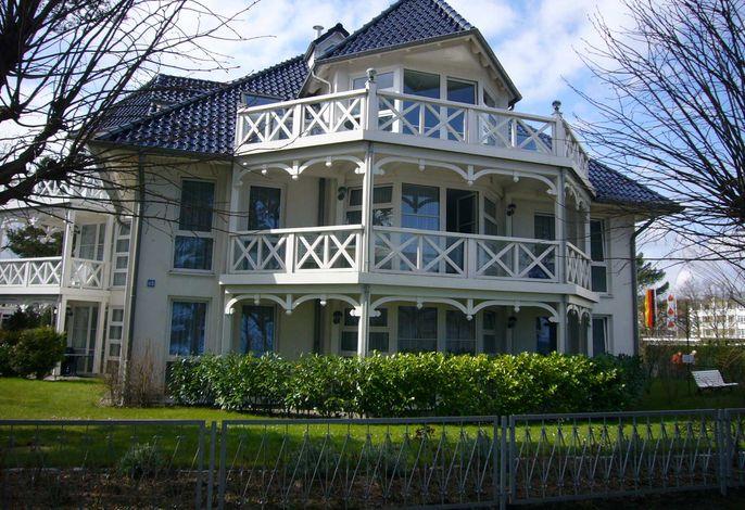 Ferienwohnung Haus Strelasund 23 im Ostseebad Binz auf Rügen