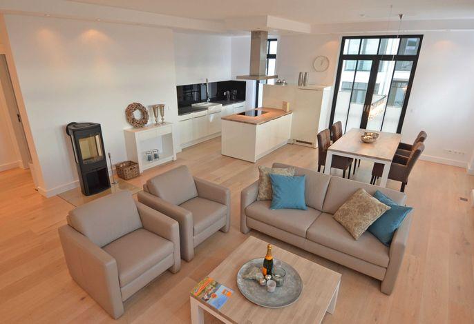 WG 24 Luxussuite Theresa in der Villa Philine - Wohnbereich
