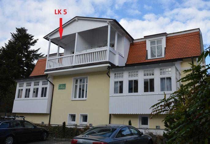 Ferienwohnung Haus Liebeskind 80 im Ostseebad Binz auf Rügen