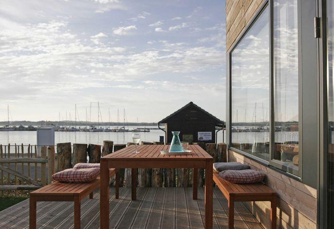 The Strandwood House -F618 | mit Kamin, Sauna, Wasserblick
