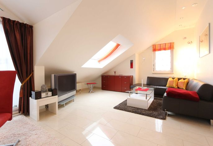 Fewo 5 - Wohnzimmer
