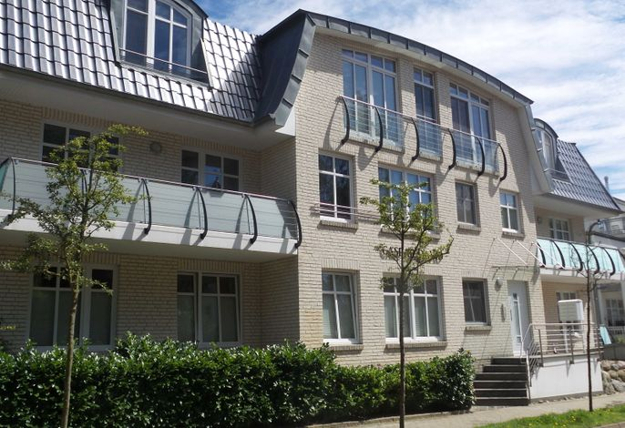 Ferienwohnung Caspar David 02 im Ostseebad Binz auf Rügen