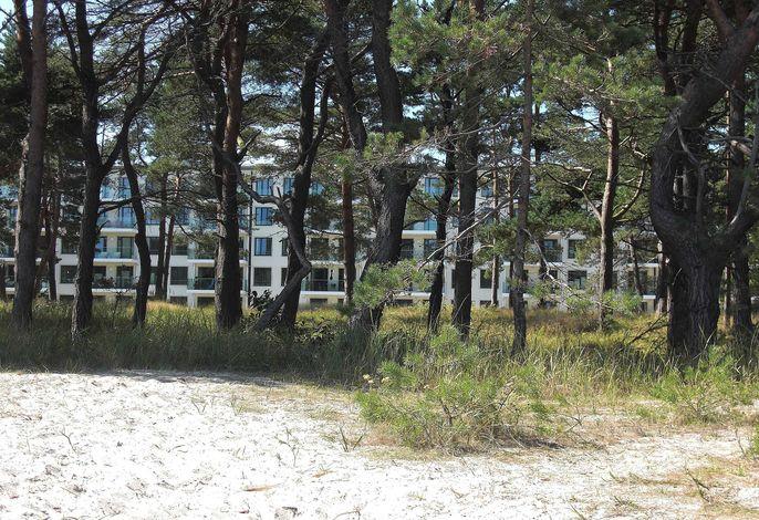 R: Appartement Prora Nova mit Balkon