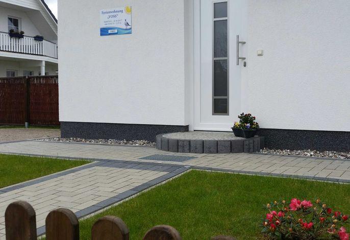 Ferienwohnung Voss mit Terrasse