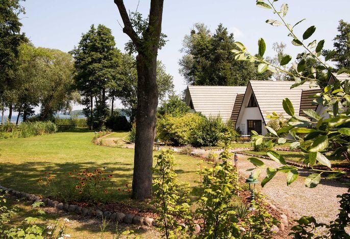Ein Haus am See - Finnhütten am Schweriner See