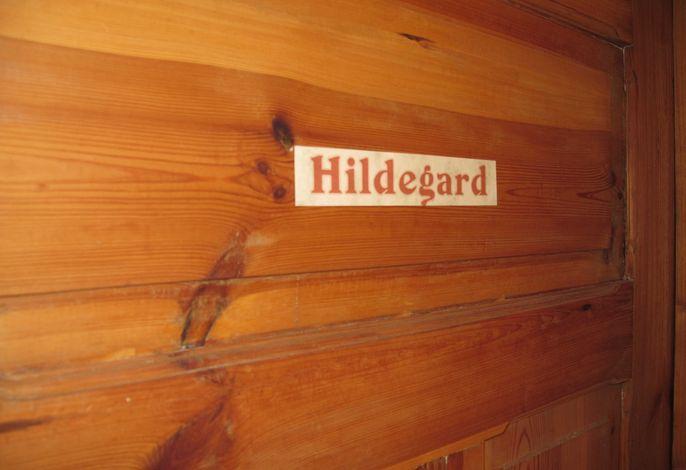 Ein kleines Detail: Jedes Zimmer im Kloster ist nach einem Orden benannt.