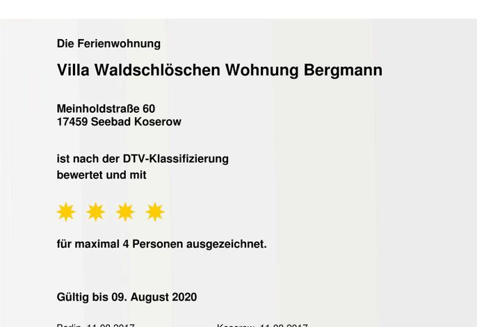 Fewo Villa Waldschlösschen