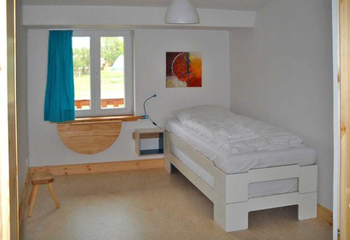 Einzelzimmer mit Einzelbett