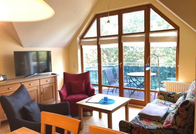 Strandhaus Jonathan Wohnzimmer mit Couch