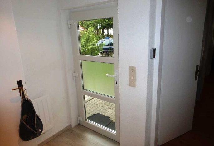 Der separate Eingangsbereich