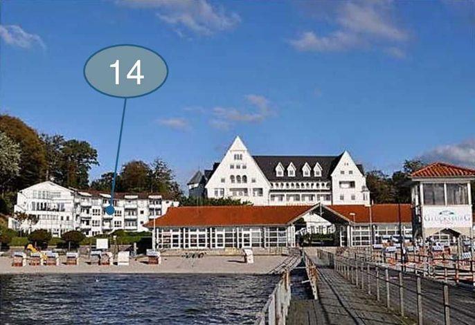 Ostseewohnung Nr. 14 - Villa Mare -