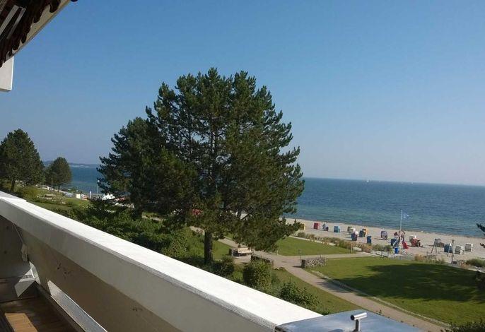 090 - direkt am Strand in 1. Reihe, super Ostseeblick