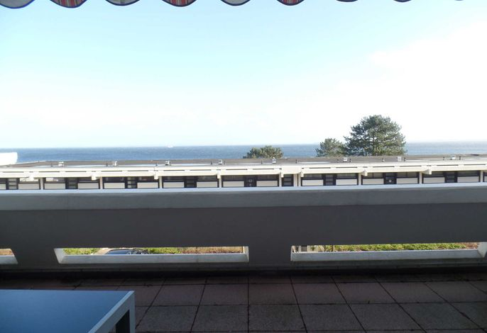 176 - großzügige Fewo in 2. Reihe zum Strand - gr. Balkon