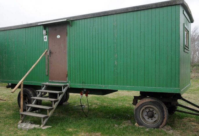Der Wohnwagen 4 Vorderansicht