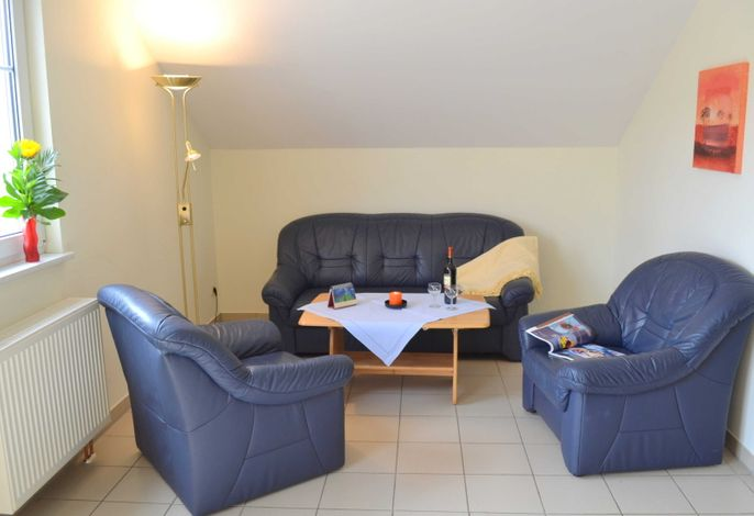 gemütliche Sitzecke im Wohnraum