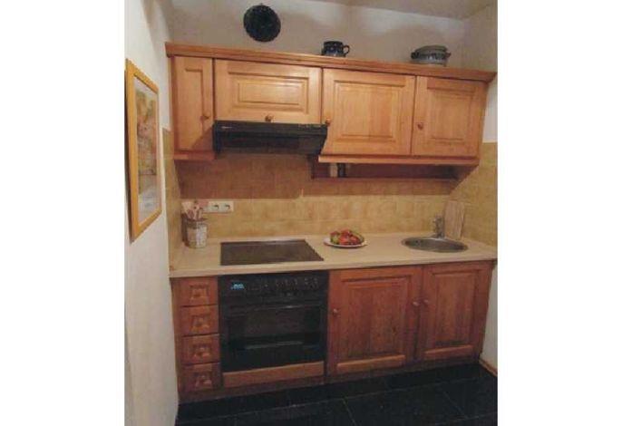 kleine offene Küche Fewo Christina