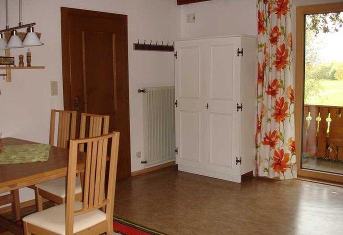 Wohnungseingang in die Wohnküche.