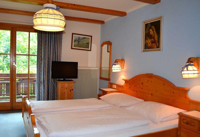 Schlafzimmer mit Balkon Appartement 2