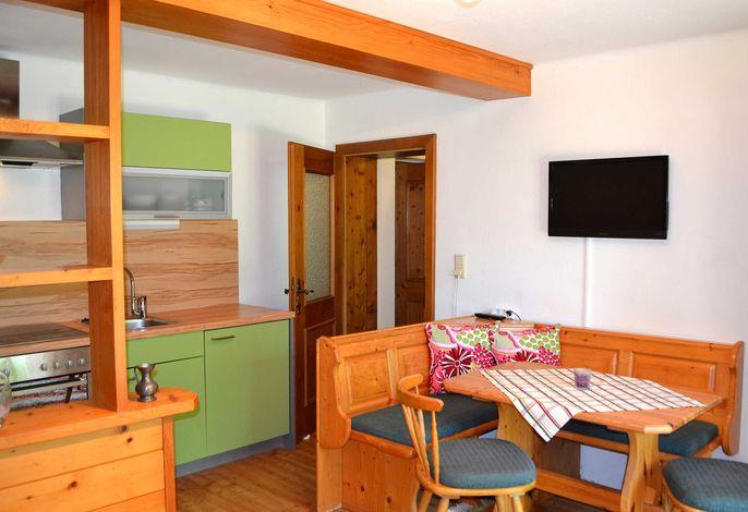 Wohnessbereich Appartement 1