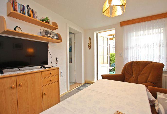 Wohnzimmer - Eingang in die Wohnung