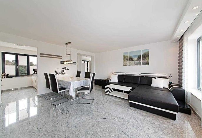 Strandresidenz Appartement Tordalk A23 inkl. 1 Strandkorb
