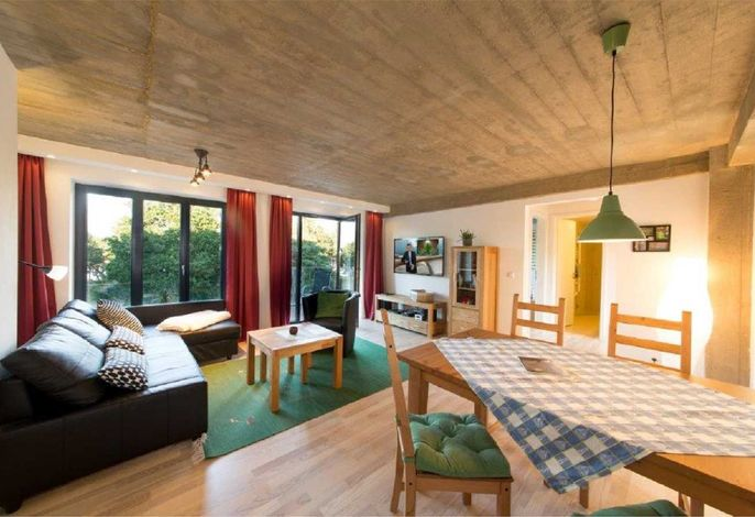 Strandresidenz Appartement Prachttaucher V17 in Prora