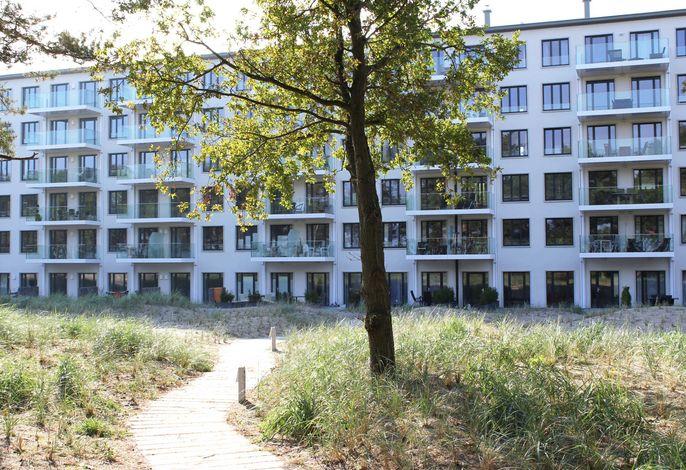 Strandresidenz Appartement Graugans A06 inkl. 1 Strandkorb