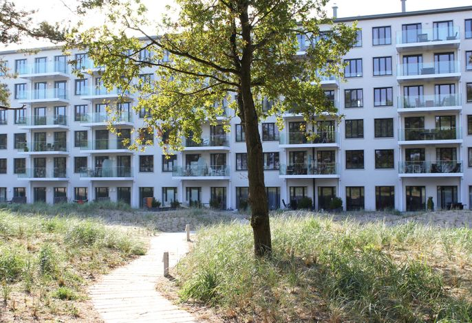 Strandresidenz Appartement Samtente A16 in Prora
