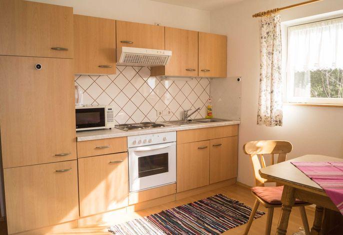 Küchenblock im Wohnraum