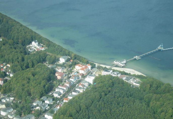 Residenz Seeblick 03 Strandläufer mit Ostseeblick