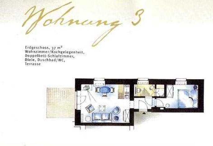 Villa Fortuna mit Meerblick in Bansin