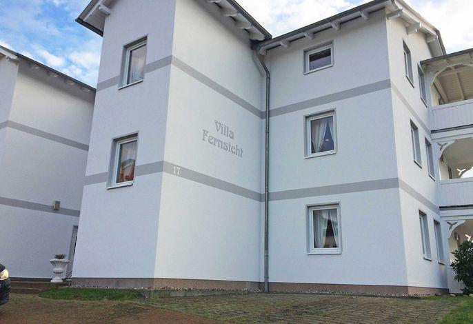 Villa Fernsicht F629 WG 12 im OG mit direktem Meerblick