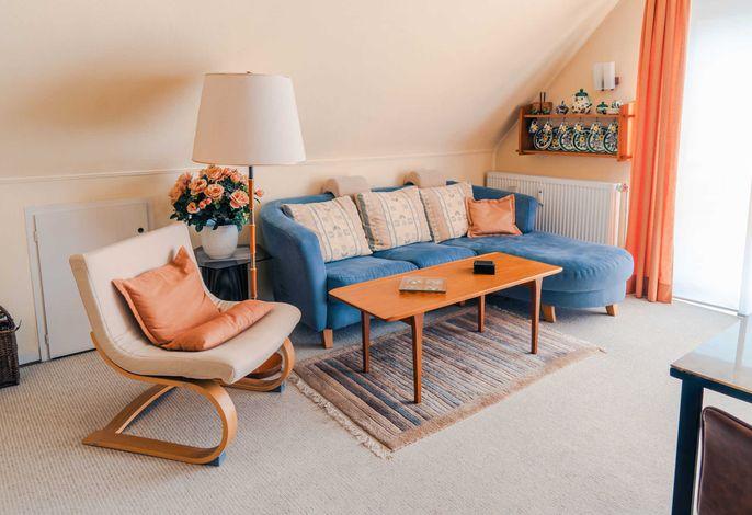 Wohn- / Esszimmer: Couch