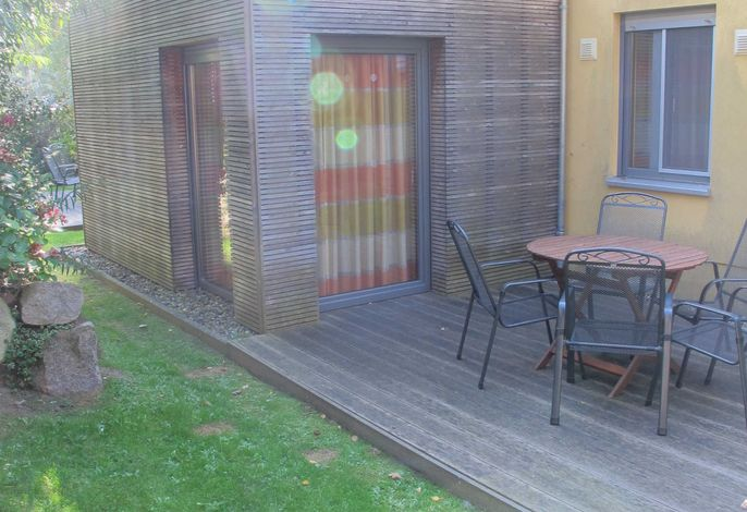 Terrasse Tres hinten