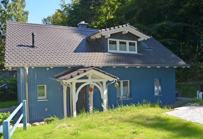 Blaues Strandhaus F 630  in traumhafter Lage