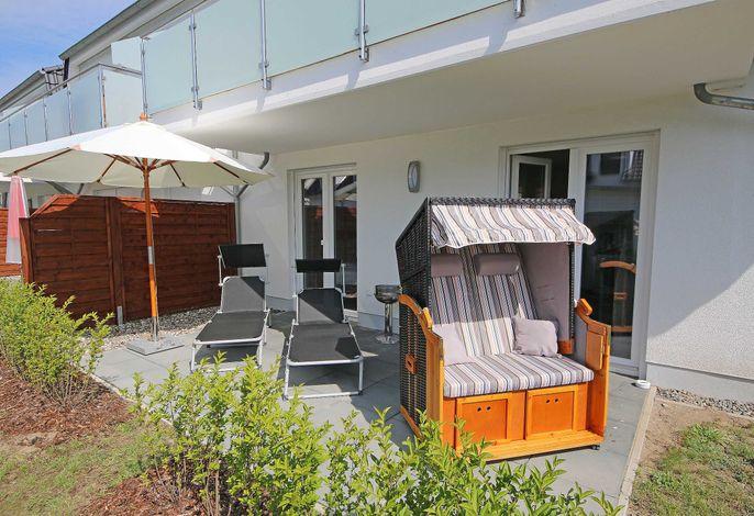MZ:  Haus Sanddorn Whg. 04 Strandläufer mit Südterrasse