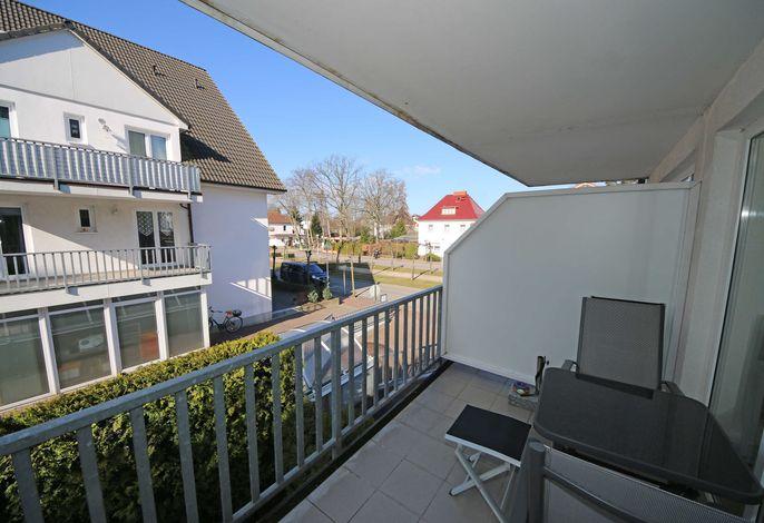 H: Ferienwohnung 06 Strandkieker mit Balkon