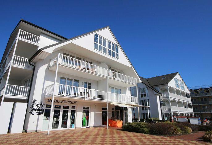 H: Ferienwohnung 09 Strandkrabbe mit 2 Balkone