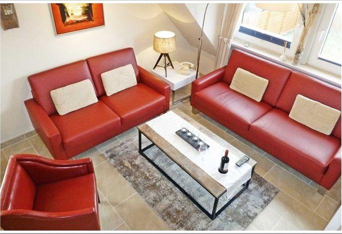 FeWo DEICHWIESE Sylt /Terrasse / 3 Schlafzimmer