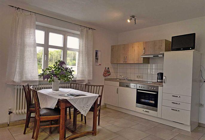 offene Küche im Wohn-/Essbereich