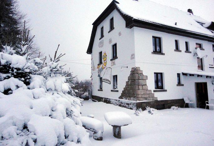 Ferienhaus im Fichtelgebirge (das mit den 5 Sternen)