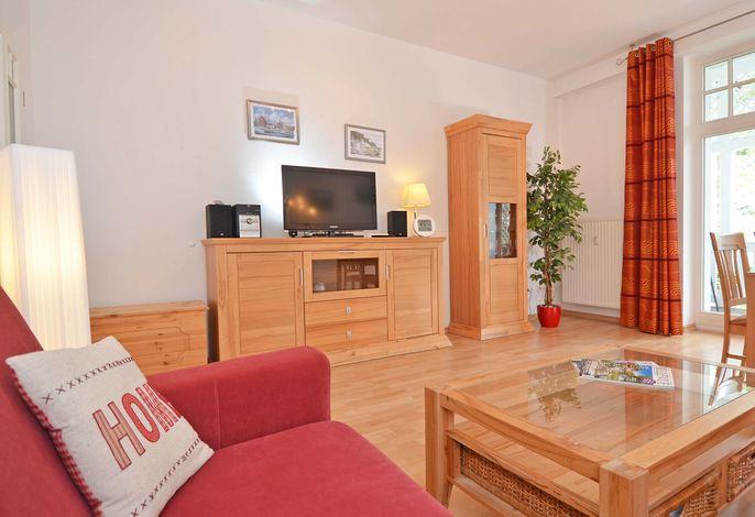 Villa Strandidyll im Ostseebad Binz WG 07 - Wohnzimmer